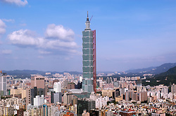Taipei 101 is one of the worlds tallest buildings in Taipei Taiwan