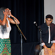 "Concha Buika during her concert at Boston Museum of fine art..the ""Flamenco Queen,"" Buika is the daughter of ..political refugees from the African nation of Equatorial Guinea and grew up in a gypsy neighborhood on.. the Spanish island of Mallorca"