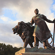 Lion Of Industry - Victoria Monument Buckingham Palace - Westminster, UK