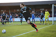Portsmouth defender Christian Burgess (6) during Wimbledon and Portsmouth at the Cherry Red Records Stadium, Kingston, England on 26 April 2016.