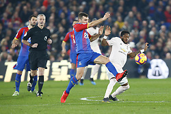 February 27, 2019 - London, England, United Kingdom - Manchester United's Fred.during English Premier League between Crystal Palace and Manchester  United at Selhurst Park stadium , London, England on 27 Feb 2019. (Credit Image: © Action Foto Sport/NurPhoto via ZUMA Press)