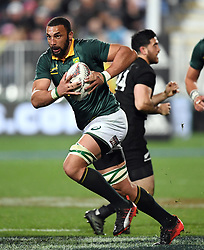 South Africa's Uzair Cassiem against New Zealand in the Investic Championship rugby test match at QBE Stadium, Albany, Auckland New Zealand, Saturday, September 16, 2017. Credit:SNPA / Ross Setford** NO ARCHIVING**