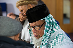 Community elders at a public meeting in Rotherham