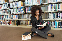 Young Woman at the Library