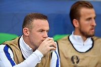 2016.06.20 Saint-Etienne<br /> Pilka nozna Euro 2016<br /> mecz grupy C Slowacja - Anglia<br /> N/z Wayne Rooney Harry Kane<br /> Foto Lukasz Laskowski / PressFocus<br /> <br /> 2016.06.20 Saint-Etienne<br /> Football UEFA Euro 2016 group C game between Slovaki and England<br /> Wayne Rooney Harry Kane<br /> Credit: Lukasz Laskowski / PressFocus