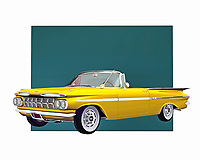 The convertible tends to make us imagine the open road. It also brings to mind going fast on an absolutely perfect spring or summer day. As you appreciate the history behind this 1959 classic from Chevrolet, you will also no doubt travel back to a simpler time in your life .<br /> <br /> BUY THIS PRINT AT<br /> <br /> FINE ART AMERICA<br /> ENGLISH<br /> https://janke.pixels.com/featured/chevrolet-impala-1959-convertible-jan-keteleer.html<br /> <br /> WADM / OH MY PRINTS<br /> DUTCH / FRENCH / GERMAN<br /> https://www.werkaandemuur.nl/nl/shopwerk/Klassieke-auto---Oldtimer-Chevrolet-Impala-1959-convertible/435897/134