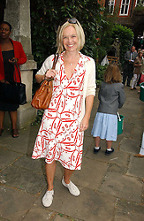 MARIELLA FROSTRUP at the annual Macmillan Cancer Support House of Lords vs the House of Commons Tug of War held in Victoria Tower Gardens on 20th June 2006.<br />