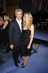 JOHN & AVERY FRIEDA at the 10th Anniversary Party of the Lavender Trust, Breast Cancer charity held at Claridge's, Brook Street, London on 1st May 2008.<br />