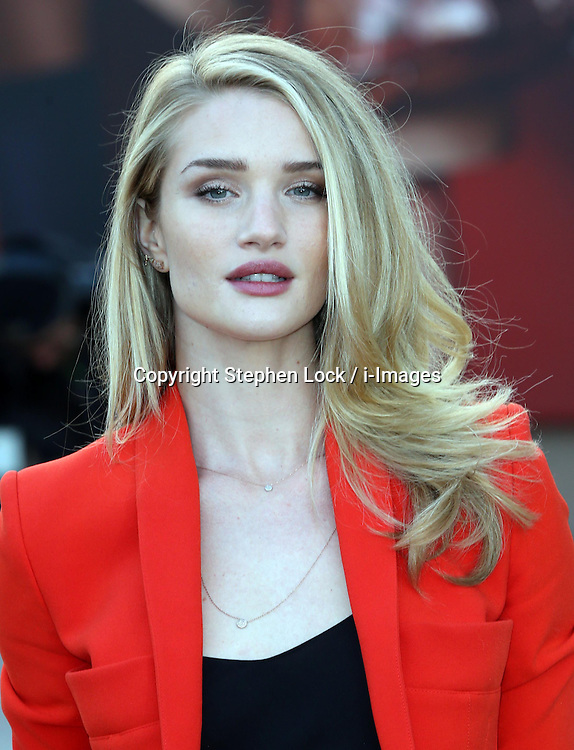 Rosie Huntington-Whitley at the  Burberry Prorsum show at London Fashion Week Autumn/Winter 2013 ,Monday, 18th February 2013  Photo by: Stephen Lock / i-Images