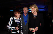 Mary Quant, Sir Terence and Lady Conran, Party hosted by Alexandra Shulman, Rupert Hambro and Prof  Jack Lohman to open 'The London Look, Fashion from Street to Catwalk', Museum of London. ONE TIME USE ONLY - DO NOT ARCHIVE  © Copyright Photograph by Dafydd Jones 66 Stockwell Park Rd. London SW9 0DA Tel 020 7733 0108 www.dafjones.com