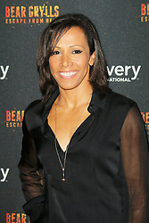 Kelly Holmes, Bear Grylls: Escape From Hell - launch party, Battersea Power Station, London UK, September 25, Photo by Richard Goldschmidt