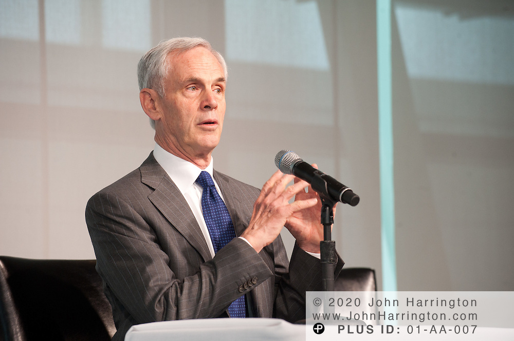 The annual Business Roundtable meeting at the Newseum in Washington, DC on November 15th, 2011.