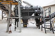 gypsum recycler at National Gypsum Plant in Westwego, Louisiana