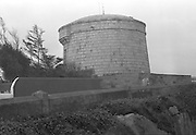 View of James Joyce Tower.21/12/1964
