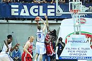 Red October Cantù VS Consultinvest Pesaro LBA serie A 3^ giornata stagione 2016/2017 Desio 16/10/2016<br /> <br /> Nella foto: Kariniauskas Vaidas Thornton Marcus