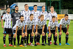 Players of NŠ Mura before football match between NŠ Mura and NK Maribor in 4th Round of Prva liga Telekom Slovenije 2019/20, on Avgust 3, 2019 in Fazanerija, Murska Sobota, Slovenia. Photo by Blaž Weindorfer / Sportida