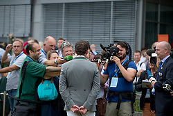 Weishaupt Philip and the media <br /> Rolex Grand Prix<br /> CHIO Aachen 2016<br /> © Hippo Foto - Dirk Caremans<br /> 17/07/16