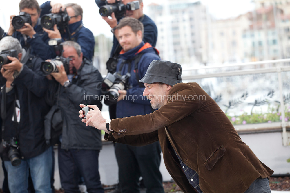 Actor, Mathieu Amalric at the Le Grand Bain (Sink Or Swim) film photo call at the 71st Cannes Film Festival, Sunday 13th May 2018, Cannes, France. Photo credit: Doreen Kennedy