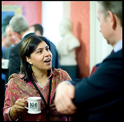 Sayeeda Warsi attend The first Cabinet meeting inside the Cabinet room in No10, Thursday May 13, 2010. Photo By Andrew Parsons/i-Images