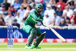 Fakhar Zaman of Pakistan plays a ramp shot for four runs - Mandatory by-line: Robbie Stephenson/JMP - 03/06/2019 - CRICKET - Trent Bridge - Nottingham, England - England v Pakistan - ICC Cricket World Cup 2019 Group Stage