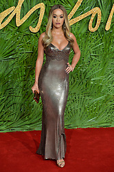 © Licensed to London News Pictures. 04/12/2017. London, UK. RITA ORA arrives for The Fashion Awards 2017 held at the Royal Albert Hall. Photo credit: Ray Tang/LNP