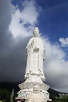 The giant Lady Buddha in Da Nang, Vietnam