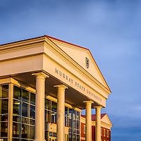 architectural shot of Murray State University Paducah Campus, Murray Kentucky
