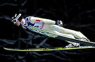 Rune Velta of Norway competes during FIS World Cup Ski Jumping in Wisla...Poland, Wisla, January 09, 2013...Picture also available in RAW (NEF) or TIFF format on special request...For editorial use only. Any commercial or promotional use requires permission...Photo by © Adam Nurkiewicz / Mediasport
