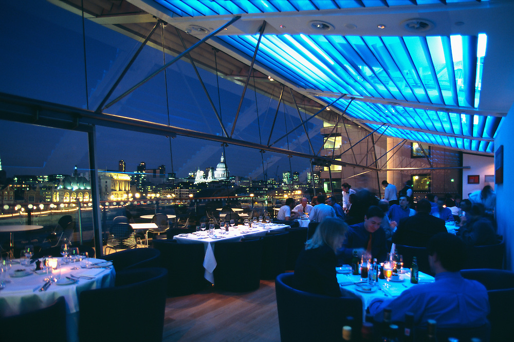 England, London, Oxo Tower Restaurant