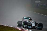 44 HAMILTON Lewis (Gbr) Mercedes Gp Mgp W05 action during the 2014 Formula One World Championship, Grand Prix of China on April 20, 2014 in Shanghaï, China. Photo Eric Vargiolu / DPPI