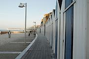 France, Normandy, A row of beach houses