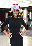 16.OCTOBER.2012. LIVERPOOL<br /> <br /> KYM MARSH IN LIVERPOOL FOR THE SANTA DASH FUNDRAISER EVENT<br /> <br /> BYLINE: EDBIMAGEARCHIVE.CO.UK<br /> <br /> *THIS IMAGE IS STRICTLY FOR UK NEWSPAPERS AND MAGAZINES ONLY*<br /> *FOR WORLD WIDE SALES AND WEB USE PLEASE CONTACT EDBIMAGEARCHIVE - 0208 954 5968*