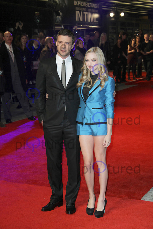 Justin Timberlake; Amanda Seyfried In Time UK Premiere, Curzon Mayfair cinema, London, UK, 31 October 2011:  Contact: Rich@Piqtured.com +44(0)7941 079620 (Picture by Richard Goldschmidt)