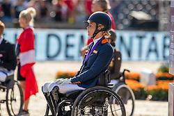 Bronze medal, Den Dulk Nicole, NED<br /> European Championship Dressage<br /> Rotterdam 2019<br /> © Hippo Foto - Dirk Caremans