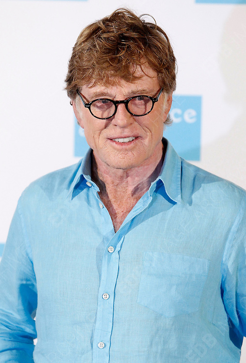 26.NOVEMBER.2012. MADRID<br /> <br /> ROBERT REDFORD ATTENDS THE PHOTOCALL FOR THE PRESENTSTION OF THE NEW SUNDANCE CHANNELAT THE RITZ HOTEL IN MADRID.<br /> <br /> BYLINE: EDBIMAGEARCHIVE.CO.UK<br /> <br /> *THIS IMAGE IS STRICTLY FOR UK NEWSPAPERS AND MAGAZINES ONLY*<br /> *FOR WORLD WIDE SALES AND WEB USE PLEASE CONTACT EDBIMAGEARCHIVE - 0208 954 5968*
