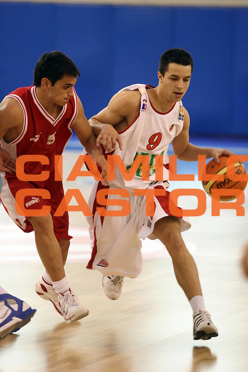 DESCRIZIONE : Atene Athens Eurolega Euroleague 2006-07 Final Four Torneo Giovanile Junior Tournament Olympiacos Pireo Bc Fmp<br /> GIOCATORE : Covic<br /> SQUADRA : Bc Fmp<br /> EVENTO : Eurolega 2006-2007 Final Four Torneo Giovanile Junior Tournament <br /> GARA : Olympiacos Pireo Bc Fmp<br /> DATA : 04/05/2007 <br /> CATEGORIA : Palleggio<br /> SPORT : Pallacanestro <br /> AUTORE : Agenzia Ciamillo-Castoria/M.Ciamillo<br /> Galleria : Eurolega 2006-2007 <br /> Fotonotizia : Atene Athens Eurolega Euroleague 2006-07 Final Four Torneo Giovanile Junior Tournament Olympiacos Pireo Bc Fmp<br /> Predefinita :