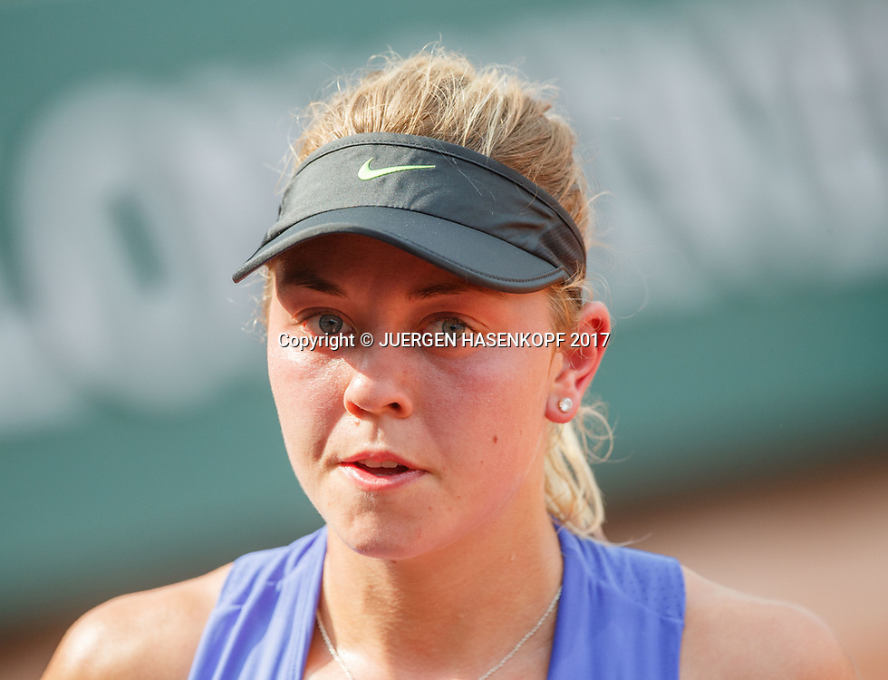 CARINA WITTHOEFT (GER)<br /> <br /> Tennis - French Open 2017 - Grand Slam / ATP / WTA / ITF -  Roland Garros - Paris -  - France  - 1 June 2017.