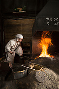 Yasha Yukawa, swordsmith in Hofu, Yamaguchi Prefekture, Japan <br />