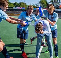 AMSTELVEEN - Laren coach Thomas Vis. finale Laren JA1- HC Rotterdam JA1. Laren wint de titel Jongens A . finales A en B jeugd  Nederlands Kampioenschap.  COPYRIGHT KOEN SUYK