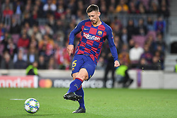 November 5, 2019, Barcelone, Espagne: FOOTBALL: FC Barcelone vs SK Slavia Praha - Champions League - 05/11/2019.Clement Lenglet. (Credit Image: © Panoramic via ZUMA Press)