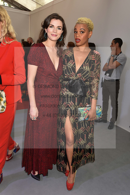 Left to right, Aisling Bea and Gemma Cairney at the Glamour Women of The Year Awards 2017 in association with Next held in Berkeley Square Gardens, London England. 6 June 2017.