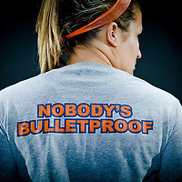 Gettysburg College's Orange & Blue Club fund raising campaign portraits with Student Athletes.