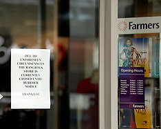 Rangiora-Farmers store closed because of earthquake damage
