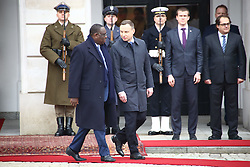 October 27, 2016 - Warsaw, Poland - President Duda received Senegal¬¥s President Macky Sall with military honours for official visit at Presidential Palace. President Sall and President Duda held bilateral consultations in Warsaw. (Credit Image: © Jakob Ratz/Pacific Press via ZUMA Wire)