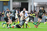 Damien CHOULY - 04.04.2015 - Clermont / Northampton - 1/4Finale European Champions Cup<br />Photo : Jean Paul Thomas / Icon Sport