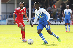 Peterborough United's 16 year-old debutant Leonardo Da Silva Lopes in action - Photo mandatory by-line: Joe Dent/JMP - Mobile: 07966 386802 - 25/04/2015 - SPORT - Football - Peterborough - ABAX Stadium - Peterborough United v Crawley Town - Sky Bet League One