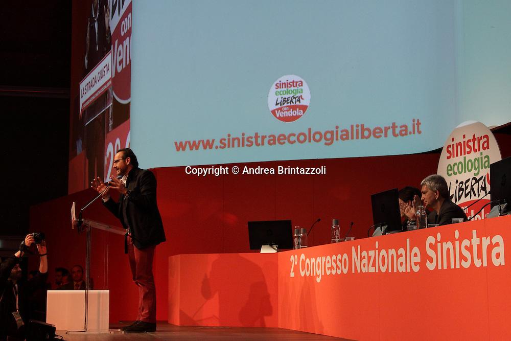 Riccione 25 Gennaio 2014 - 2&deg; Congresso Nazionale Sinistra Ecologia Liberta' - SEL<br /> Intervento di Riccardo Nencini al congresso SEL