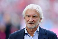 Fussball  1. Bundesliga  Saison 2018/2019  3. Spieltag  FC Bayern Muenchen - Bayer 04 Leverkusen       15.08.2018 Sportdirektor Rudi Voeller (Bayer 04 Leverkusen)  ----DFL regulations prohibit any use of photographs as image sequences and/or quasi-video.----