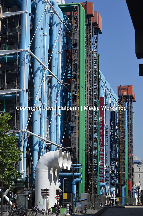 Landmark Pompidou Centre