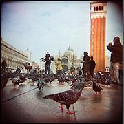 Italie, Venise, San Marco..Place Saint Marc..© Jean-Patrick Di Silvestro.
